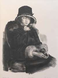 Anne in a Black Hat -  BELLOWS