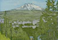 California 2.  Mt. Shasta -  FLETCHER
