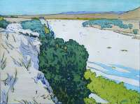 California 1. - Salinas River -  FLETCHER